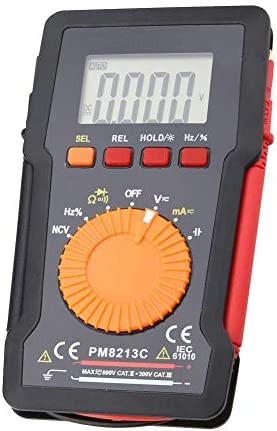 L-YINGZON Electrical Multimeters Digital Electronic Multimeter, PM8213A/B/C Multifunctional High Precision Digital Multimeters(PM8213C) Testing Measuring Tools