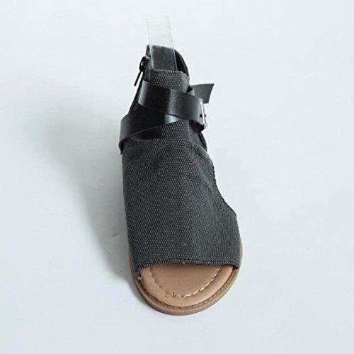 18508 MML Noir pour MML Sandales Femme q8dwn457