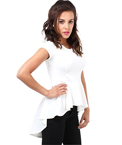 Fishtail Peplum Top (Size UK 16, US 12), - Frame Clothing Uk