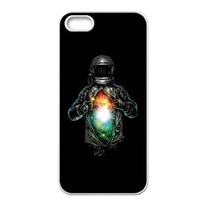 iPhone 5 5s Cell Phone Case White cosmic inside E9T1H