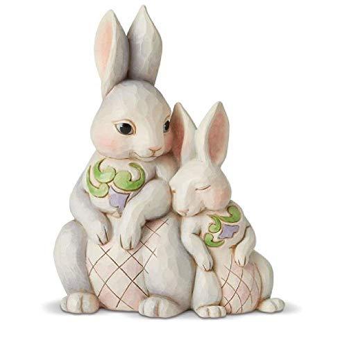 Enesco Jim Shore Heartwood Creek Snuggling - Easter Bunny Jim Shore