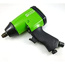"""Dynamic Power Air Impact Wrench - Twin Hammer 1/2"""" Impact Driver w/ Composite Body and Comfort Grip"""