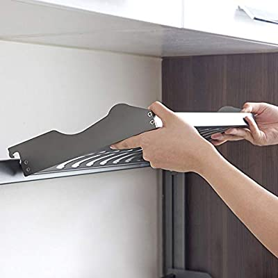 Estante De Cocina Estante Para Platos De Aluminio De 2 Capas, Porta Especias: Amazon.es: Hogar