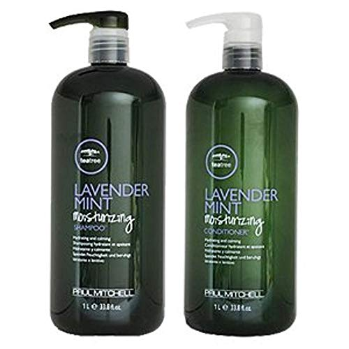 - Paul M Shampoo and Conditioner Liter Duo - Lavender Mint