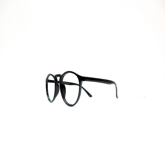 28f6d46635a0 SWAMIRAJ LEO Round Shape Full Black with Nice Glossy Finish Light weight  Frame for Men   Women
