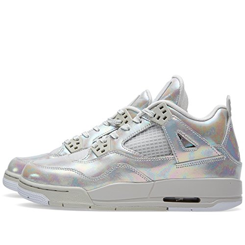 Nike Air Jordan 4 Retro Pearl Gg, Zapatillas de Running Para Mujer Blanco (Light Bone / Light Bone-Cannon)