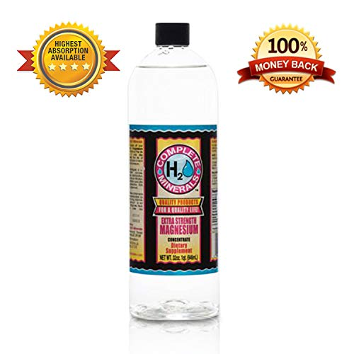 Best High Absorption Magnesium Supplement,4800ppm, Angstrom, Vegan, Organic, Liquid Magnesium, Magnesium Oxide,32oz (Best Organic Mineral Supplements)