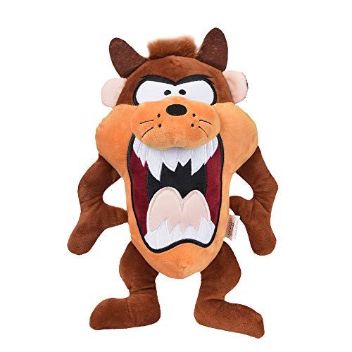 LOONEY TUNES for Pets Tasmanian Devil Taz Plush Dog Toy, Stuffed Animal for Dogs, Multiple Sizes – Plush Dog Toy for All…