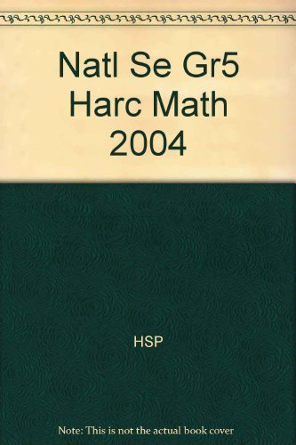 Harcourt Math (Level 5)