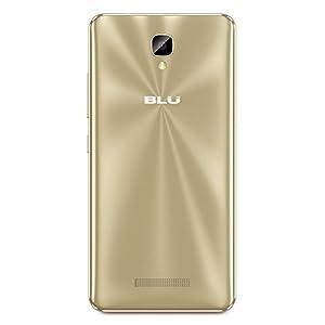 "BLU VIVO XL2-5.5"" 4G LTE GSM Unlocked Smartphone - 32GB+3GB RAM -Gold"