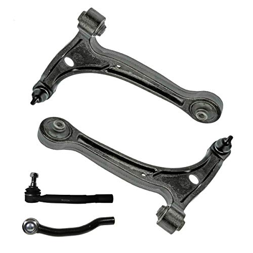 - Detroit Axle - Front Lower Control Arm w/Ball Joint & Outer Tie Rod Ends for 2001-2006 Acura MDX - [2003-2008 Honda Pilot]