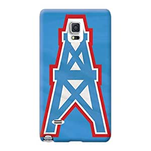 Samsung Galaxy Note 4 KHI13122DfrT Custom HD Houston Texans Pattern Excellent Cell-phone Hard Cover -MarcClements