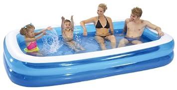 piscina hinchable rectangular