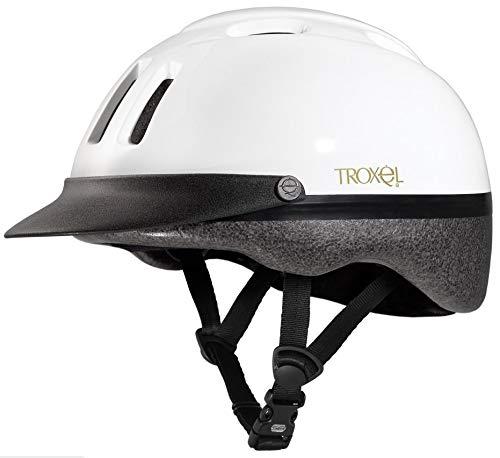 (Troxel Sport Helmet, White, X-Small)