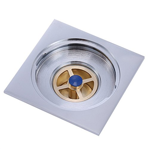 Floor drain/full copper gravity T washing machine double use floor drain toilet kitchen, insect prevention, insect prevention, blocking, blocking and return water T double use floor drain