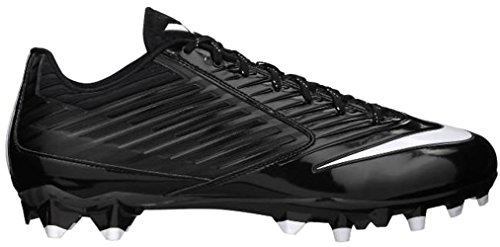 Nike Mens Vapor Speed Low Td Molded Football Cleats, Blk/Wht, SZ 13.5  (Cleats Football Molded Nike)