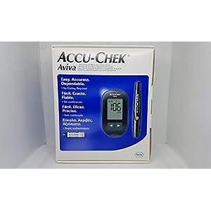 ACCU-CHEK Medidor de Glucosa 16