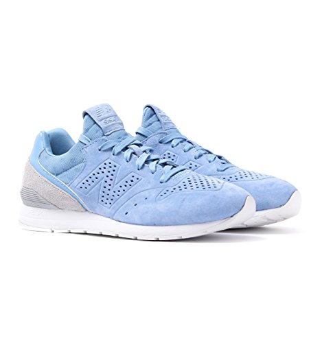 New Balance 996 Re-Engineered Pale Blue Suede Trainers-UK 12.5