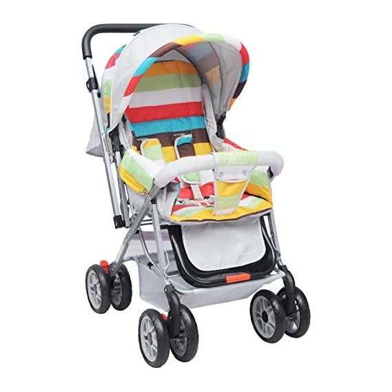 R for Rabbit Lollipop Lite Colorful Baby Stroller and Pram for Baby|Kids|Infants|New Born|Boys|Girls of 0 to 3 Years