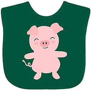 Inktastic Pig-Oink Toddler Dress Pink Pig Oink Piggie Girls