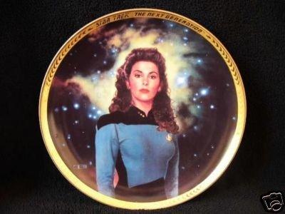Star Trek The Next Generation Deanna Troi Collectors Plate