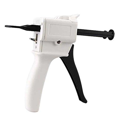 Airgoesin 1:1/2:1 Ratio Dental Impression 50ml Mixing Dispenser Gun 135 Degree Autoclavable