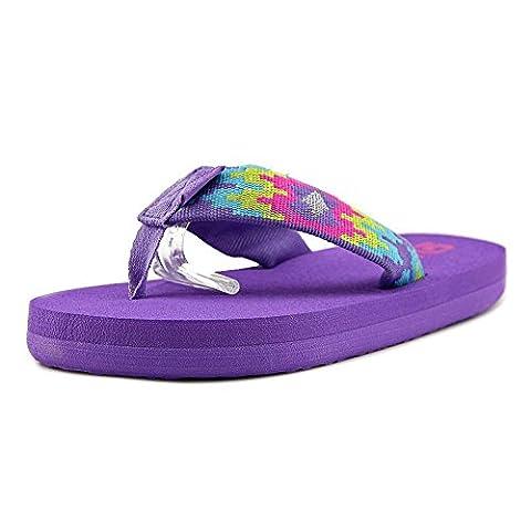 Teva K Mush II Youth US 6 Purple Flip Flop Sandal (Kid Teva Flip Flops)