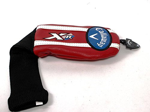 Callaway XR 16 Red Hybrid Headcover Head Cover Adjustable Tag