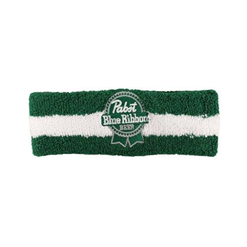 pabst-blue-ribbon-pbr-beer-green-striped-st-headband