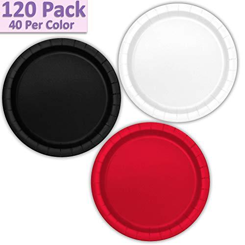 120 Paper Dessert Plates (7