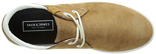 JACK & JONES Jjhamlin - Sneakers Hombre Marrón - marrón (Cognac)