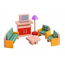 PLAN TOYS Dollhouse Furniture - Neo Living Room by PlanToys