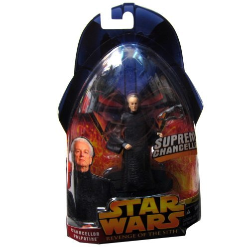 Star Wars Episode III 3 Revenge of the Sith SUPREME CHANCELLOR PALPATINE Action Figure #14]()
