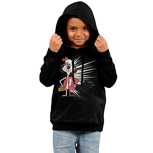 Costume Toddler Underdog (FGFD Kids The Cartoon Dog Movie Unisex Hooded Sweatshirt Black Size 5-6)