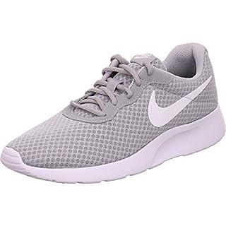 Nike Mens Tanjun Running Sneaker Wolf Grey/White 9.5