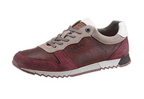 Australian Sneaker Aus Leder und Veloursleder in Weinrot Used Größe: 46