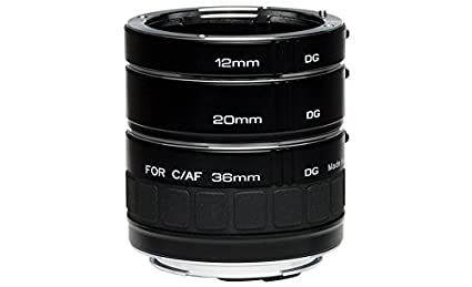 Kenko Auto Extension Tube Set DG 12mm,20mm,36..