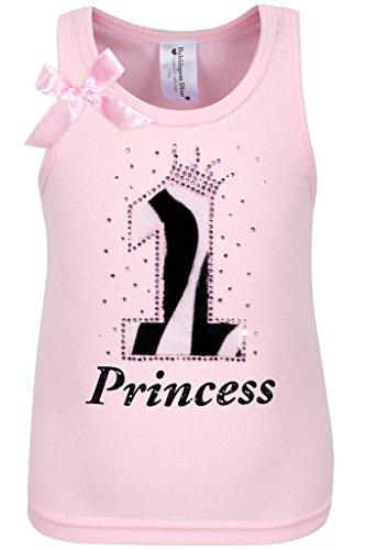 Bubblegum Divas Baby Girls 1st Birthday Pink Zebra Print Animal Shirt 12mos