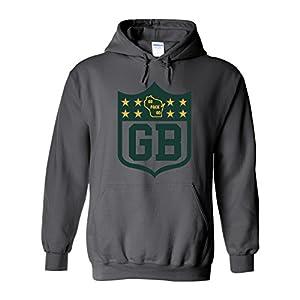 47e23ab031f America  8217 s Finest Apparel Green Bay Shield Hoodie 411FkS9baoL