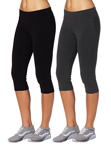 aenlley-womens-activewear-capri-legging-workout-gym-spanx-yoga-pants-tights-color-black-grey-size-l