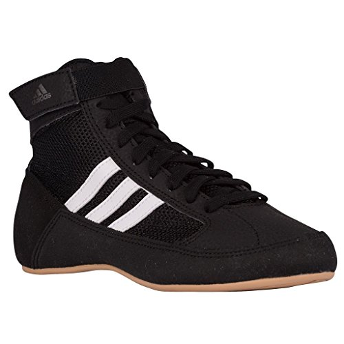 Shoes Boots Trainers (adidas Havoc Kids Junior Wrestling Trainer Shoe Boot Black - US 3.5)