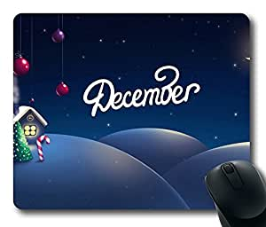 Design Mouse Pad Desktop Laptop Mousepads December The Christmas Month Comfortable Office Mouse Pad Mat Cute Gaming Mouse Pad