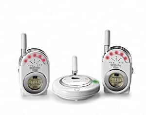 Fisher-Price Private Connection Monitor with Dual Receivers - White (Discontinued by Manufacturer)