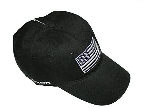 Mack Trucks Black Tactical USA Flag Patch Born Ready Hat -