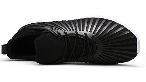 No.66 Stad Paar Casual Wandelende Loopschoenen Modeliefhebbers Sneaker # 2 Zwart