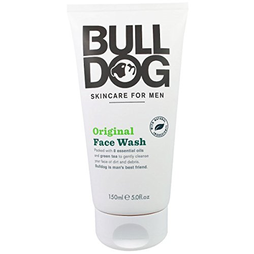 Bulldog Natural Skincare Original Face Wash (5.0 oz x 2)