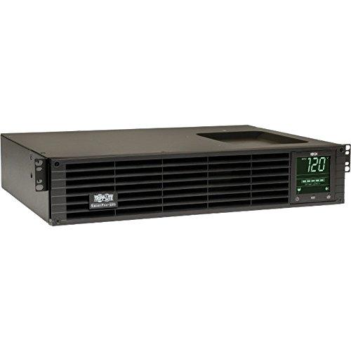 Tripp Lite 1500VA Smart UPS Back Up, Sine Wave, 1350W Line-Interactive, 2U Rackmount, Extended Run Option, LCD, USB, DB9 (SMART1500RMXL2UA) by Tripp Lite