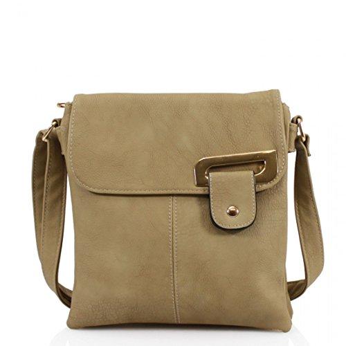 Travel Bag Cross Medium Womens YDezire Trendy Shoulder Khaki Handbag Body Messenger 48x6c