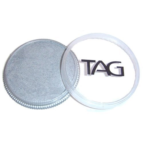 TAG Face Paints - Pearl Silver (32 - Painting Metallic Body