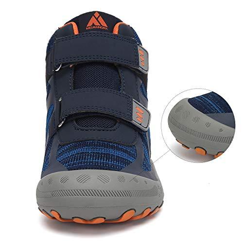 Mishansha Chaussures de Randonnée pour Enfants Garçon Bottes de Fille Marche de Trekking Sport de Plein Air 3